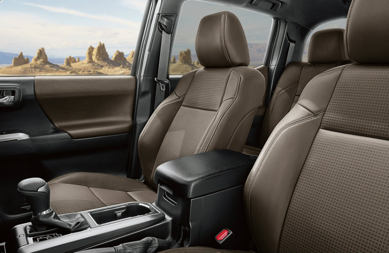 2017 Toyota Tacoma Leather Seating Trim
