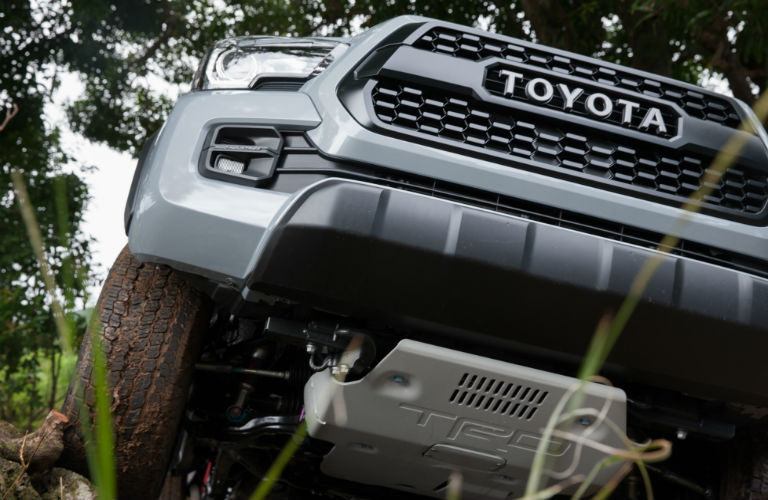 2017 Toyota Tacoma front grille design