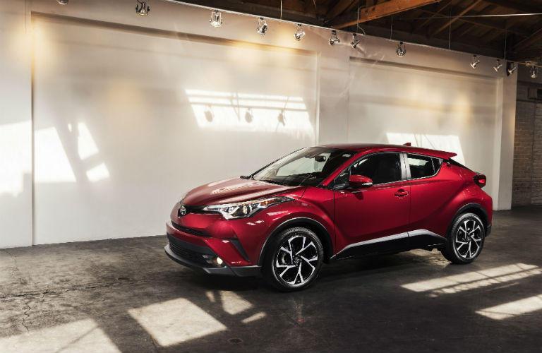 What does the Toyota C-HR look like?