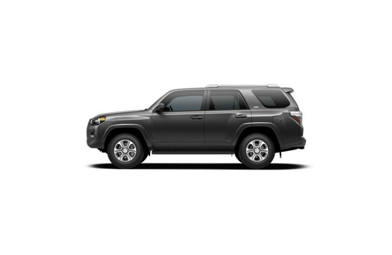 2017 Toyota 4Runner Magnetic Gray Metallic