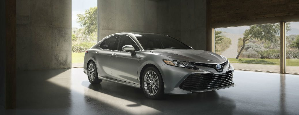 2018 Camry in Silver