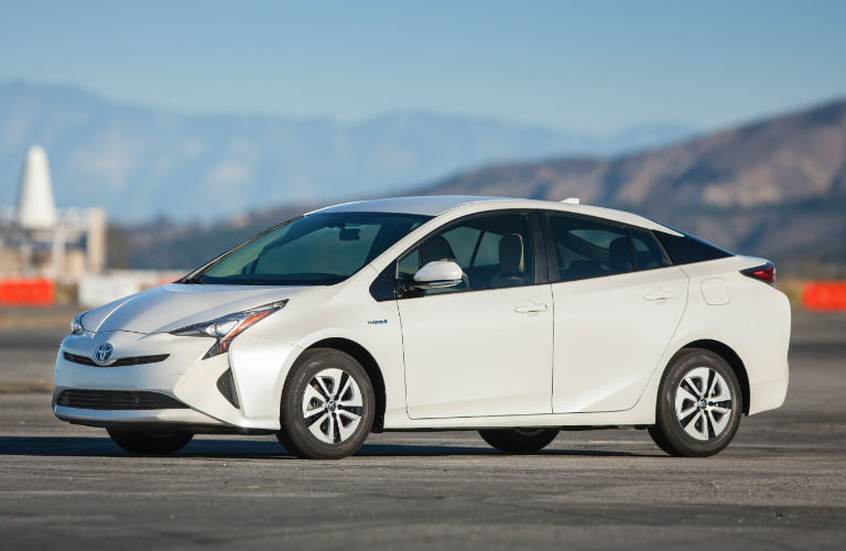 2017 Toyota Prius Two Eco left side view