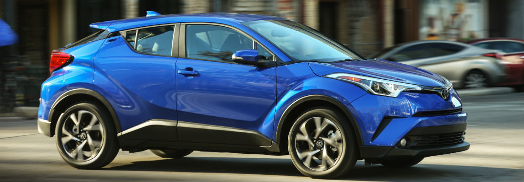 How many doors are on the 2018 Toyota C-HR Anyway?