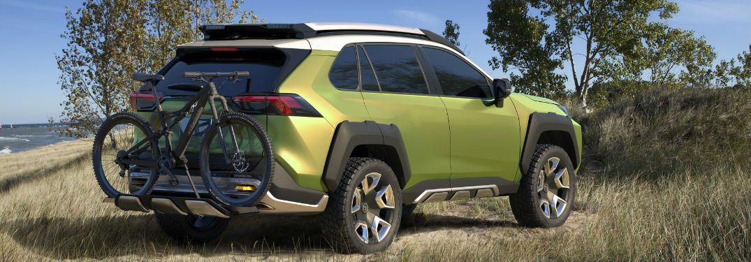 New Adventure Concept Vehicle Levels Up Toyota Lineup