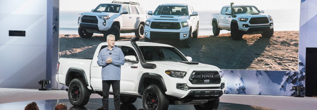 Toyota Reveals Eye-Catching Tacoma Desert Air Intake at 2018 Chicago Auto Show