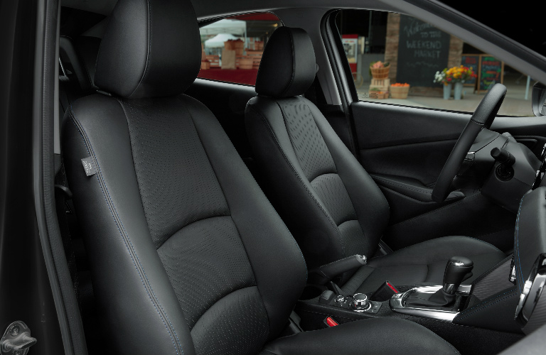 2019 Toyota Yaris Sedan front seats