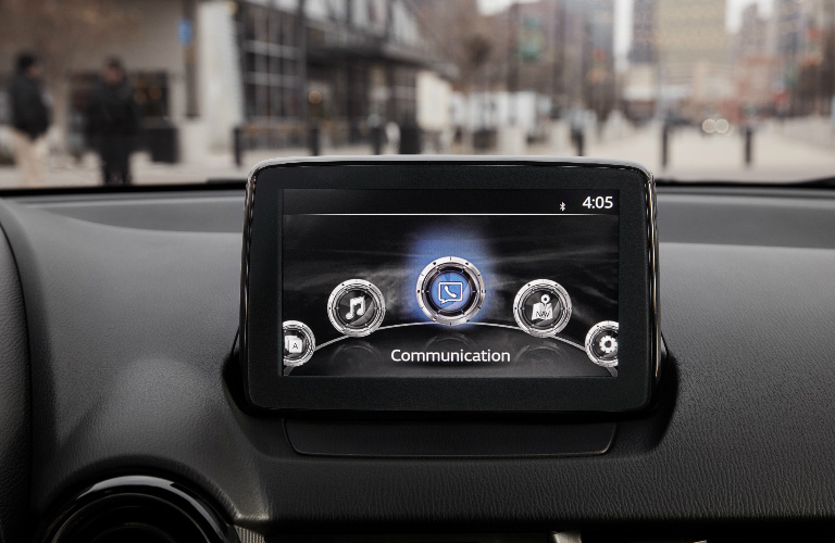 2019 Toyota Yaris Sedan touchscreen display