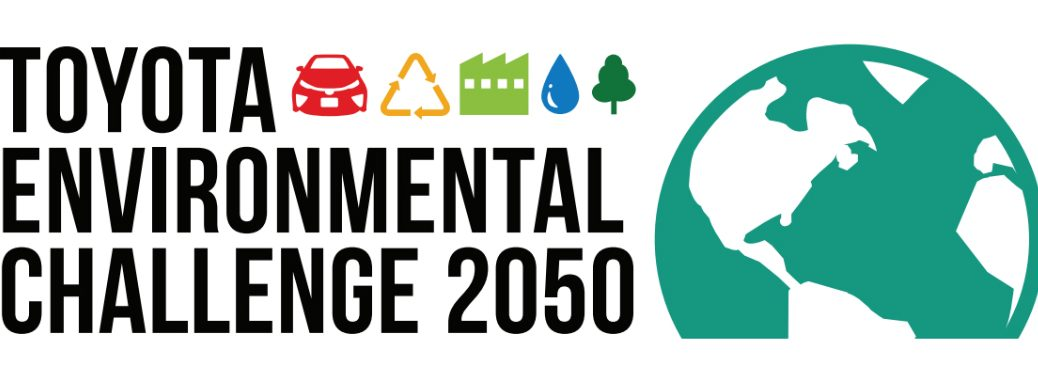 Toyota Environmental Challenge 2050 Graphic