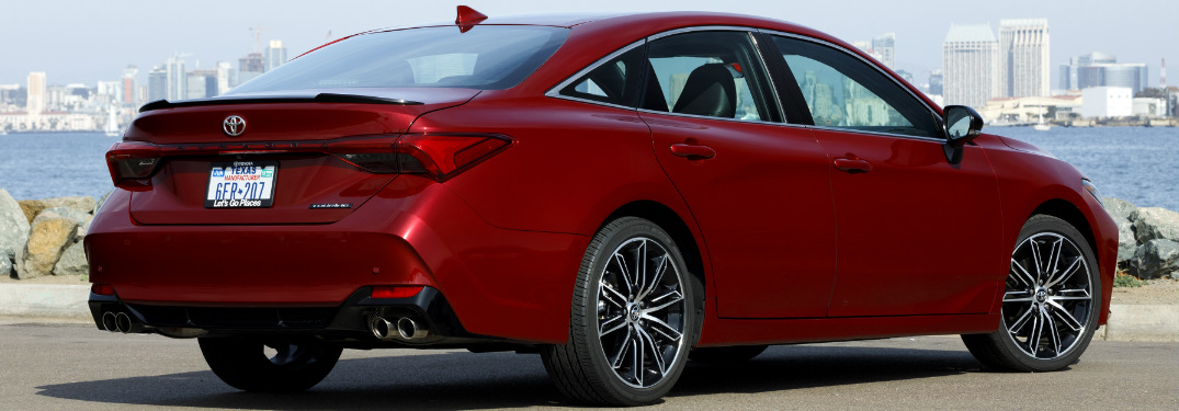 How much will the new Avalon cost?