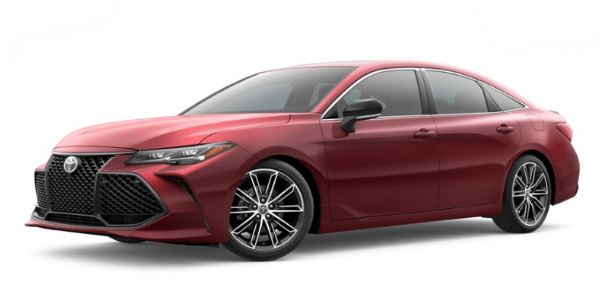 2019 Toyota Avalon in Ruby Flare Pearl