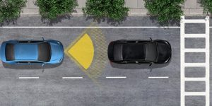 Toyota Safety Sense C Pre-Collision Graphic