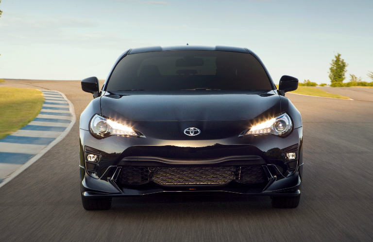 2019 Toyota 86 front fascia and headlights