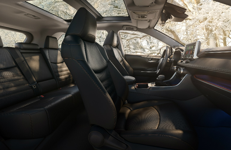 2019 Toyota RAV4 interior overview