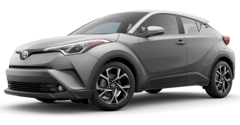 2019 Toyota C-HR in Silver Knockout Metallic
