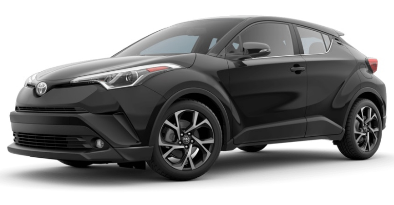 2019 Toyota C-HR in Black Sand Pearl
