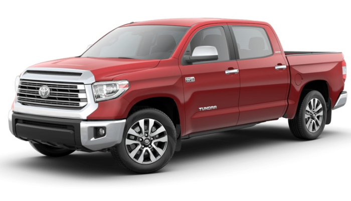 2019 Toyota Tundra in Barcelona Red Metallic