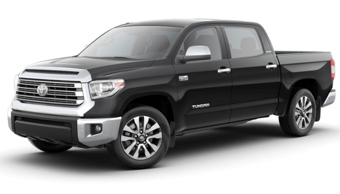 2019 Toyota Tundra in Midnight Black Metallic