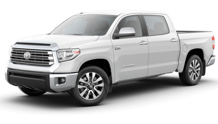 2019 Toyota Tundra in Super White