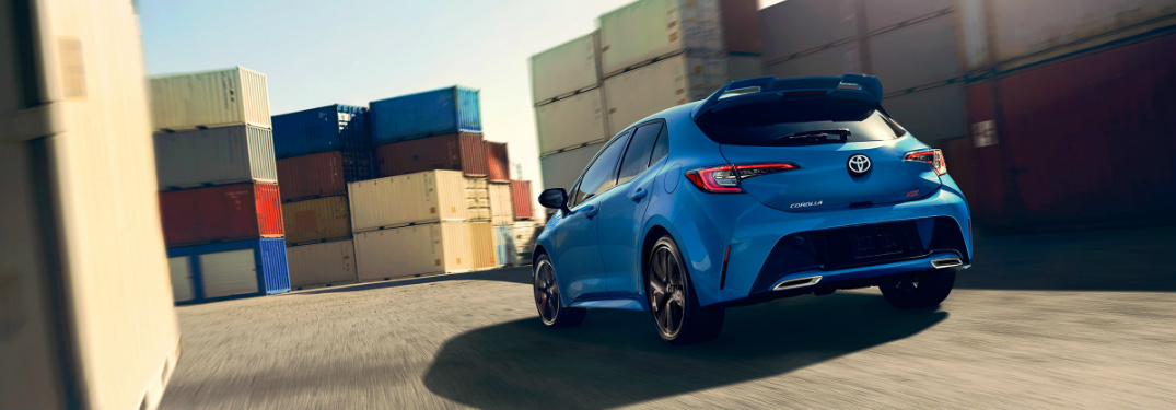 2019 Toyota Corolla Hatchback Exterior Color Options