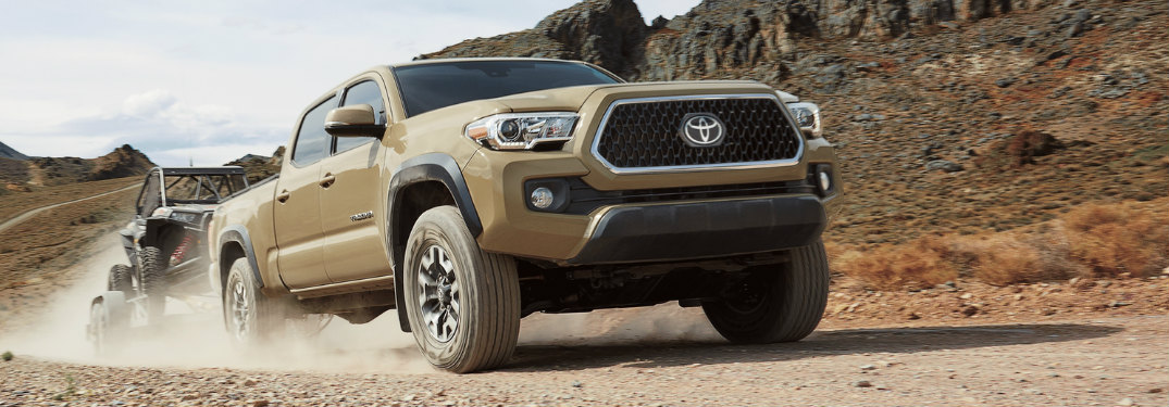 Which Toyota model offers the best towing capacity?