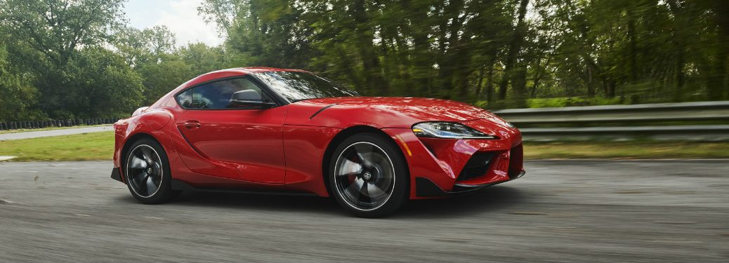 2020 Toyota Supra side profile