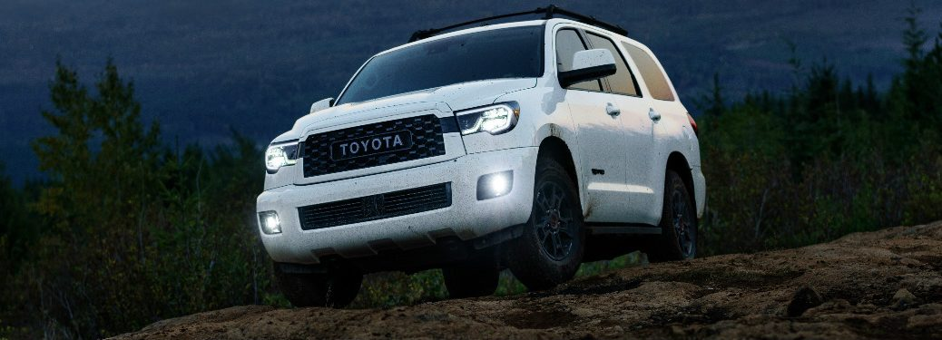 2020 Toyota Sequoia TRD Pro in white