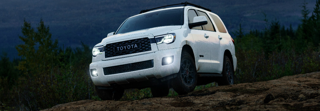 Toyota Sequoia Adds TRD Pro Grade for 2020 Model Year