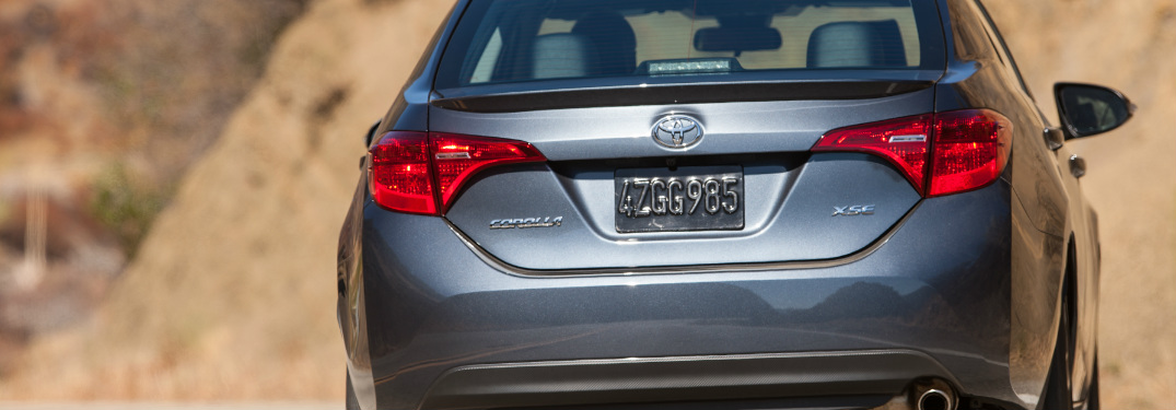 Which Toyota Sedan Has the Most Trunk Space?