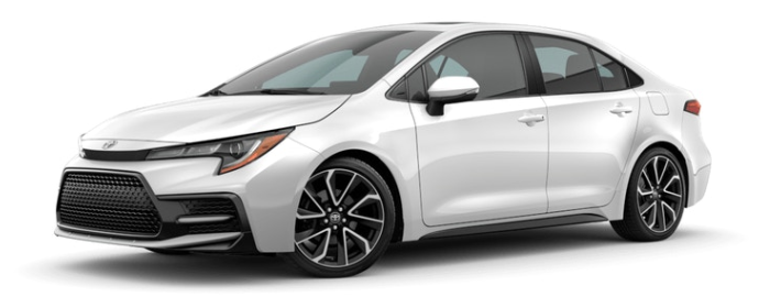 2020 Toyota Corolla in Super White