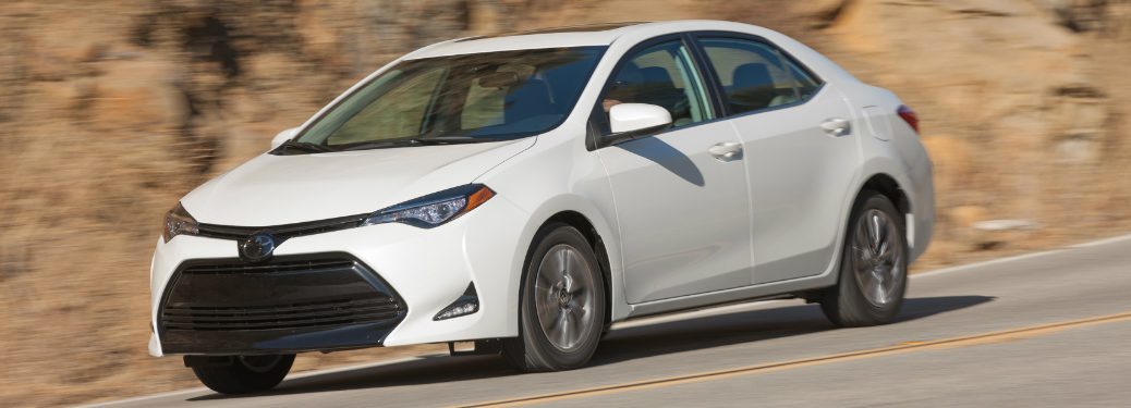 2018 Toyota Corolla LE Eco in white