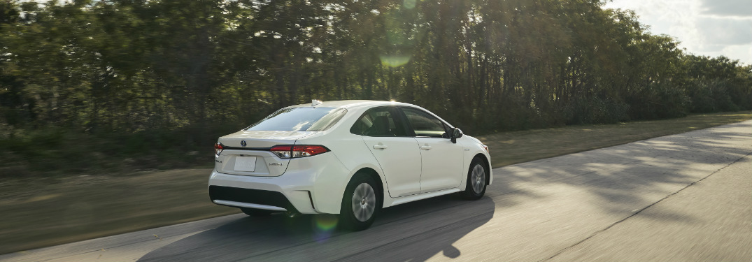 How efficient is the new Corolla hybrid configuration?