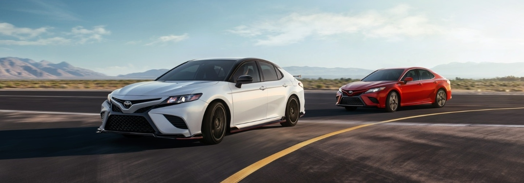 What colors are available on the 2020 Toyota Camry?
