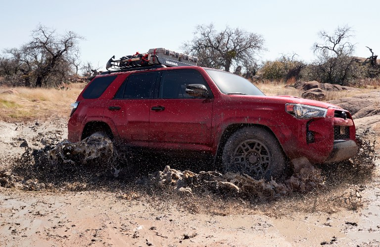 2020 Toyota 4Runner Venture Edition going through water