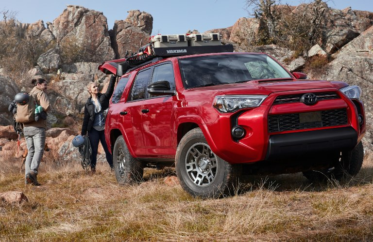 2020 Toyota 4Runner Venture Edition being packed up