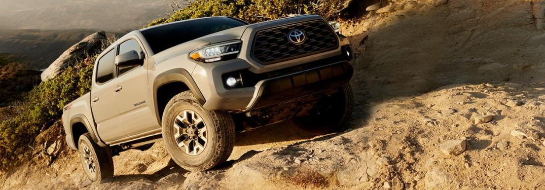 2020 Toyota Tacoma now available in nine exterior colors at Ackerman Toyota in St. Louis!