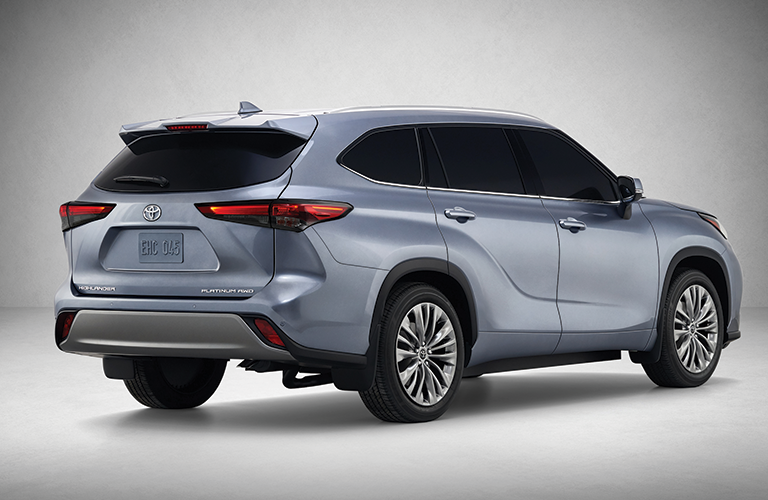 2020 Toyota Highlander back end