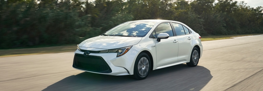 Passive and Active Safety Features on the 2020 Toyota Corolla