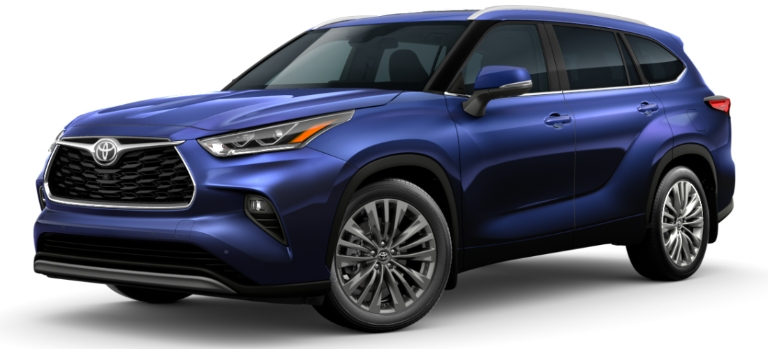 2020 Toyota Highlander Blueprint