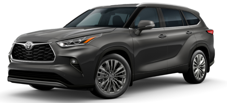2020 Toyota Highlander Magnetic Gray Metallic