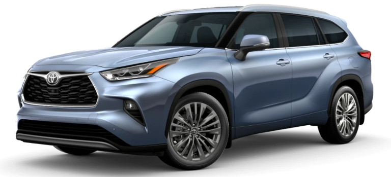 2020 Toyota Highlander Moon Dust