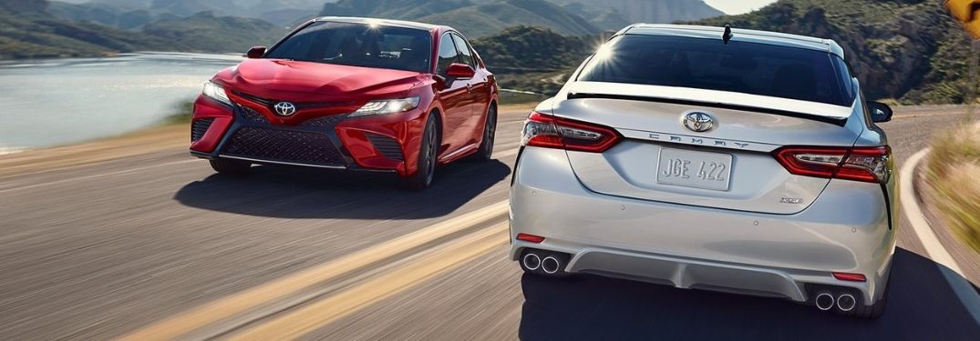 What safety features come standard on the 2020 Toyota Camry?