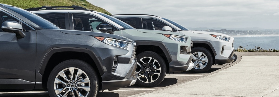 Stay safe in St. Louis in a 2020 Toyota RAV4 crossover!