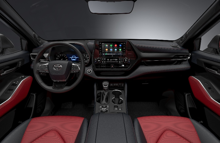 2021 Toyota Highlander XSE Dashboard