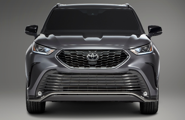 2021 Toyota Highlander XSE front end