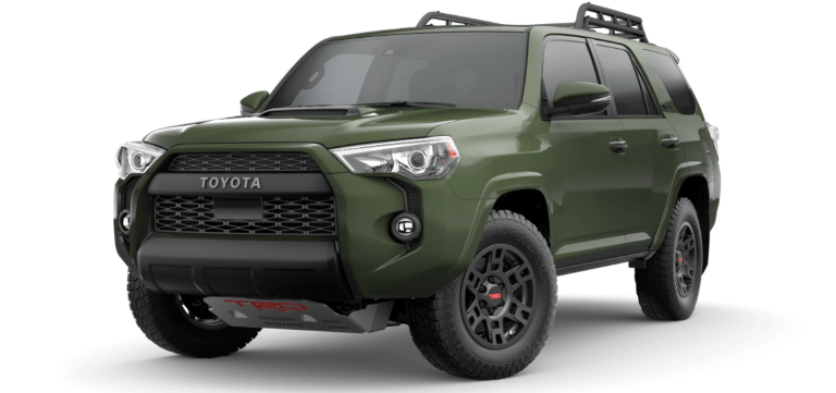 2020 Toyota 4Runner Army Green