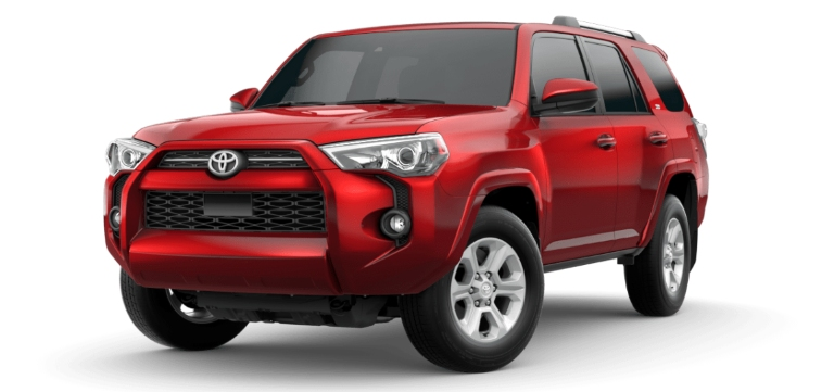 2020 Toyota 4Runner Barcelona Red Metallic