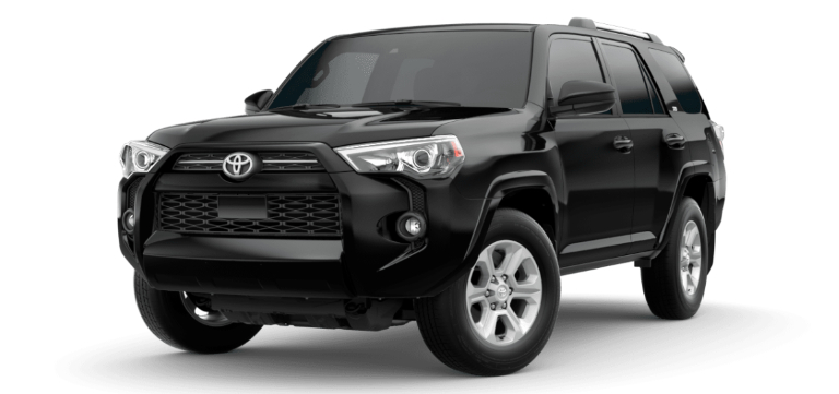 2020 Toyota 4Runner Midnight Black Metallic
