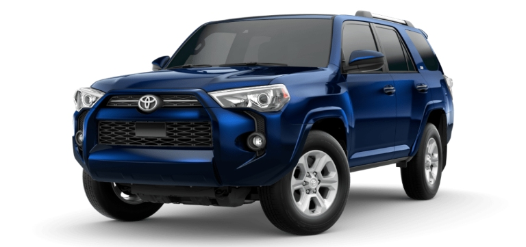 2020 Toyota 4Runner Nautical Blue Metallic