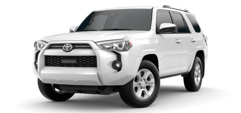 2020 Toyota 4Runner Super White