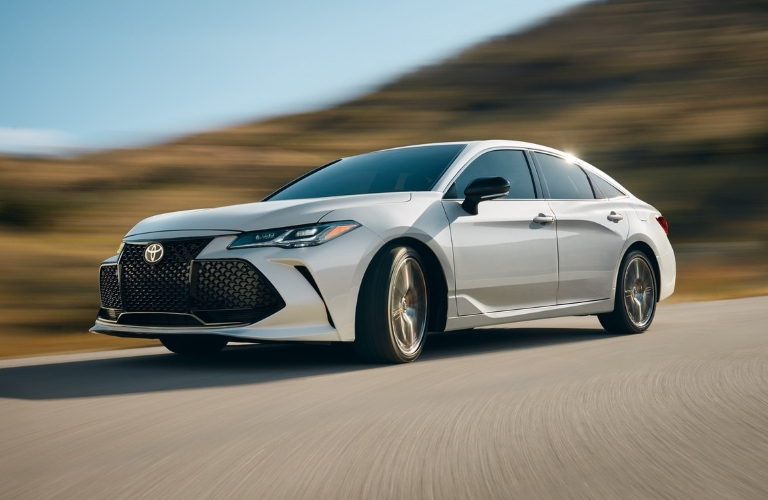 2020 Toyota Avalon going down the road